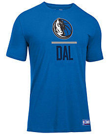 Under Armour Men's Dallas Mavericks Lockup T-Shirt