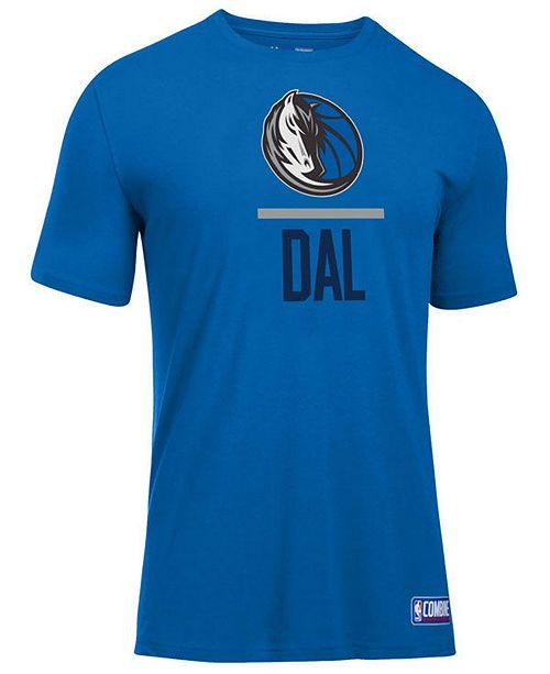 Under Armour Men's Dallas Mavericks Lockup T-Shirt