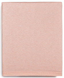 Calvin Klein Modern Cotton Harrison Pink Queen Flat Sheet