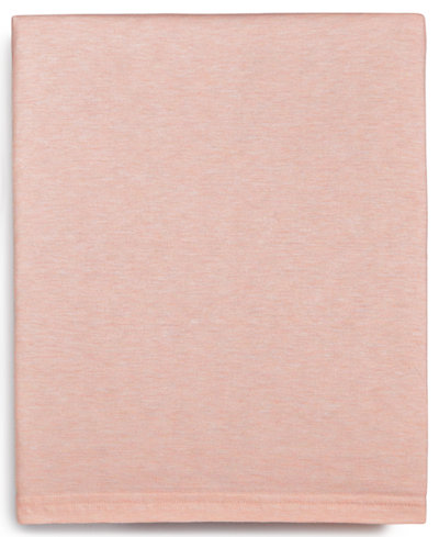 Calvin Klein Modern Cotton Harrison Pink Twin Flat Sheet