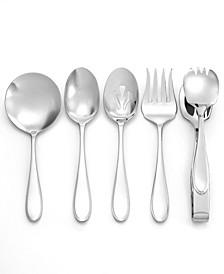 Flatware, 5 Piece Hospitality Basic Serving Set
