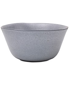 Mikasa Rowan Grey Serving Bowl