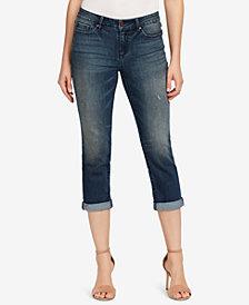 Vintage America Boho Cropped Skinny Jeans