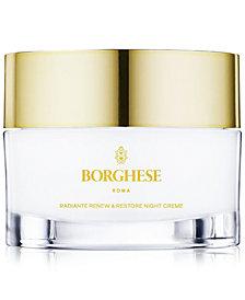 Borghese Radiante Renew & Restore Night Creme, 1 oz.