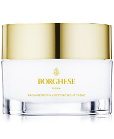 Borghese Radiante Renew & Restore Night Creme, 1 oz.