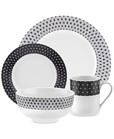 Spode  Retrospect 16-Piece Dinnerware Set, Service for 4