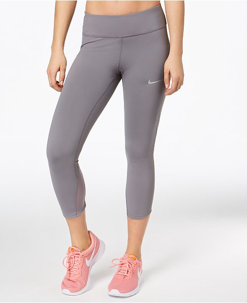 12ab7636a8b9ad Nike Power Epic Lux Cropped Running Leggings & Reviews - Pants ...