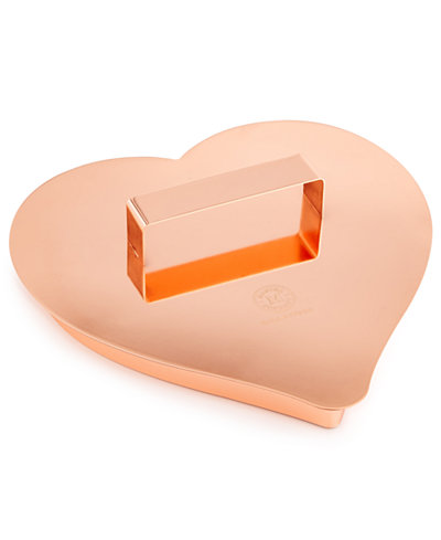 Martha Stewart Collection Large Copper Heart Cookie Cutter, Created for Macy's