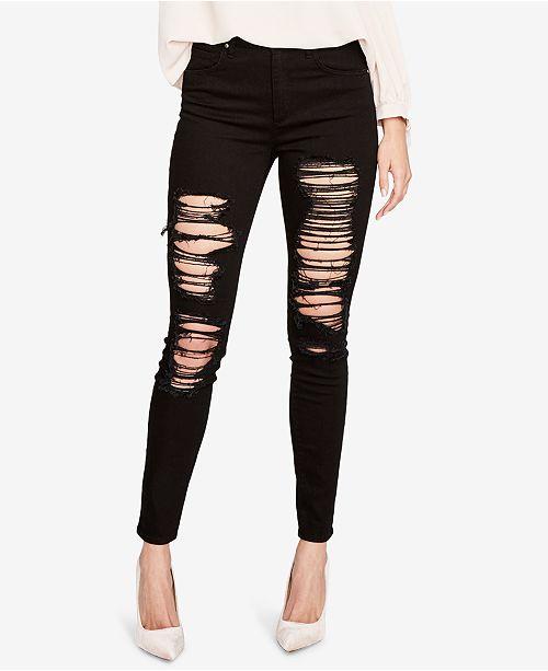 RACHEL Rachel Roy Rachel Ripped Skinny Jeans, Created for Macy's