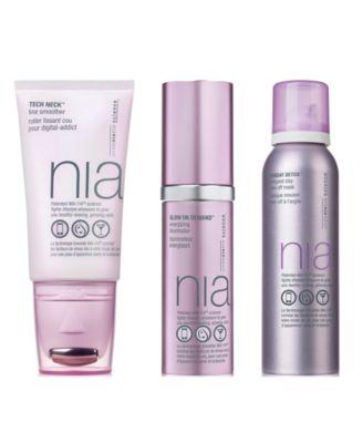 NIA Wash + Glow Hydrating Cleansing Foam, 5-oz.
