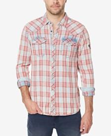 Mens Casual Button Down Shirts & Sports Shirts - Macy's