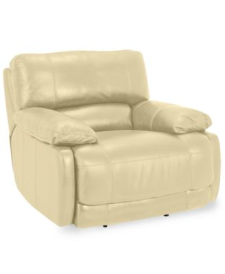 nina leather power recliner - Power Recliner