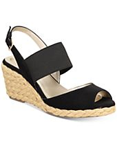 Bandolino Himeka Espadrille Wedge Sandals, a Macy's Exclusive Style