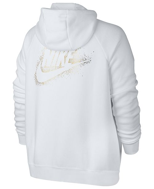 40393323c249e Nike Plus Size Sportswear Rally Zip Hoodie   Reviews - Jackets ...