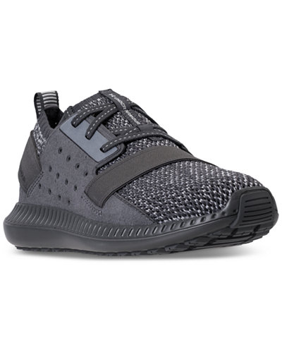 Under Armour Big Boys' Threadborne Shift Heathered Casual Sneakers from Finish Line