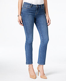 Style & Co Petite Stitch-Pocket Bootcut Jeans, Created for Macy's