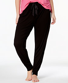 Jenni by Jennifer Moore Plus Size Graphic-Print Pajama Top & Pajama Pants Sleep Separates, Created for Macy's