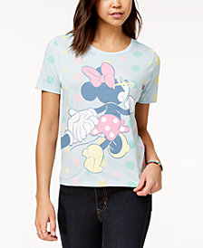 Disney Juniors' Minnie Mouse Graphic T-Shirt by Mighty Fine