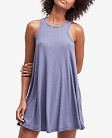 Free People La Nite Ribbed Swing Dress