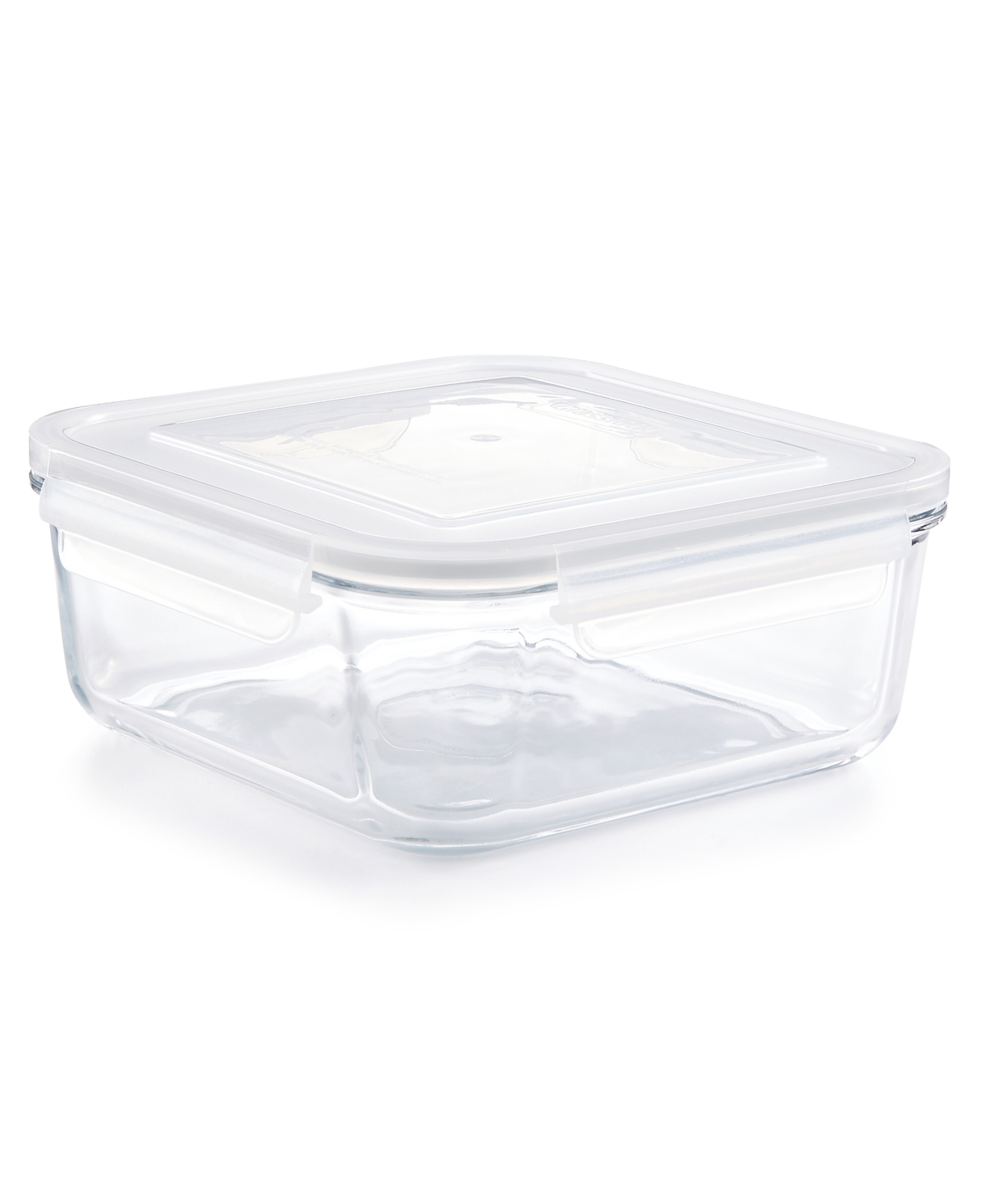 Martha Stewart Collection Square 2.45-Qt. Glass Storage Container, Created for Macy's