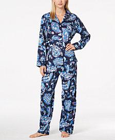 Lauren Ralph Lauren Classic Sateen Paisley-Print Pajama Set