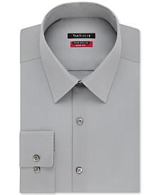 9ed2e062791 Van Heusen Men s Fitted Poplin Dress Shirt   Reviews - Dress Shirts ...