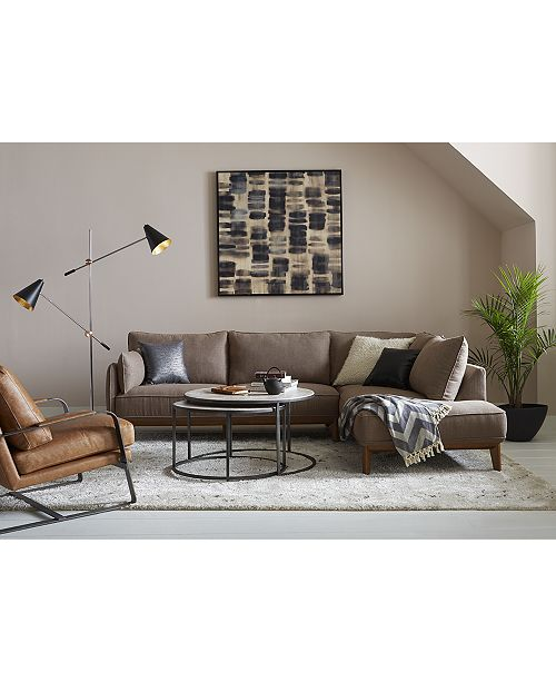Marvelous Jollene Fabric Sectional And Sofa Collection Created For Macys Dailytribune Chair Design For Home Dailytribuneorg