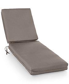 Sunbrella Outdoor Chaise Cushions, Quick Ship