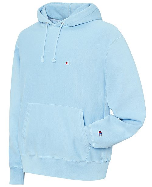 60192bb96 Champion Men s Garment-Dyed Reverse Weave® Hoodie   Reviews ...