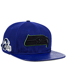 Pro Standard Seattle Seahawks Team Color Black Strapback Cap