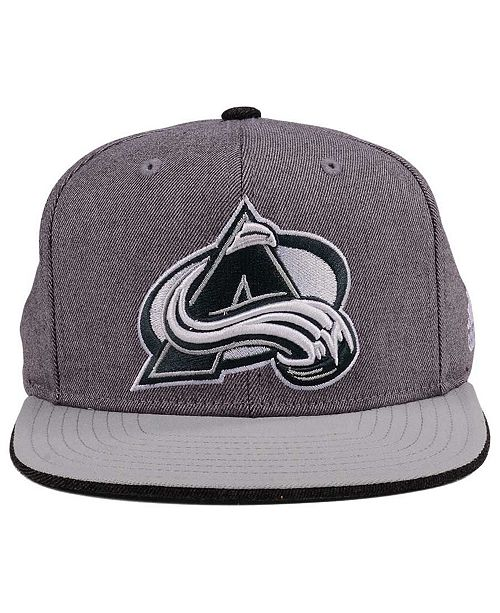 914860b472c adidas Colorado Avalanche Two Tone Snapback Cap - Sports Fan Shop By ...