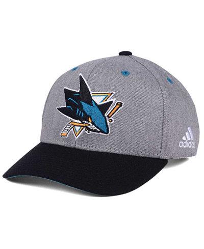 adidas San Jose Sharks 2Tone Adjustable Cap