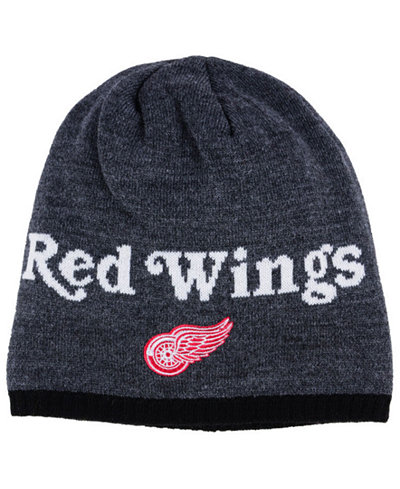 adidas Detroit Red Wings Heather Beanie