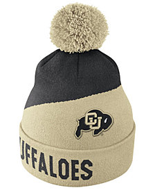 new style c388c ab875 Nike Colorado Buffaloes Champ Pom Knit Hat