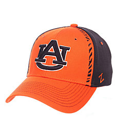 Zephyr Auburn Tigers Pattern Pipe Stretch Cap