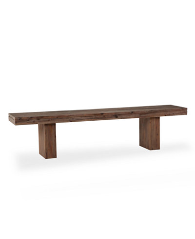 Champagne Dining Bench, Created for Macy's