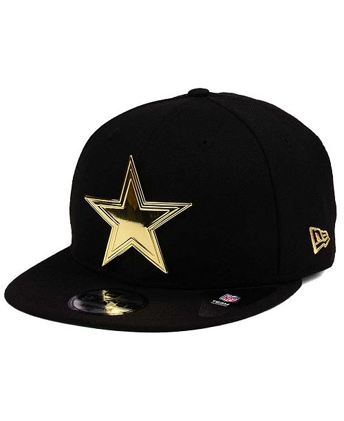 07e4fffa278 New Era Dallas Cowboys O Gold 9FIFTY Snapback Cap - Sports Fan Shop ...
