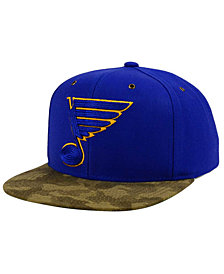 CCM St. Louis Blues Fashion Camo Snapback Cap