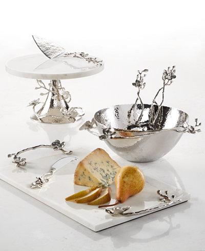 Michael Aram White Orchid Serveware Collection Serveware