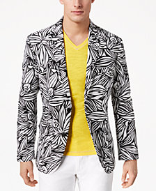 I.N.C. Men's Slim-Fit Tropical Linen Sport Coat, Created for Macy's