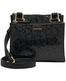 Calvin Klein Madison Signature Crossbody