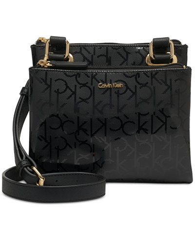 Calvin Klein Madison Signature Mini Crossbody