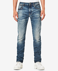 G-Star RAW Men's 3301 Deconstructed Slim-Fit Jeans