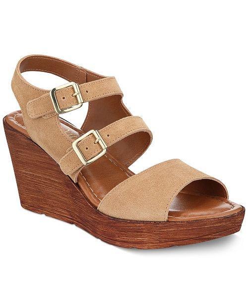 54aab946e3d3 Bella Vita Ani-Italy Wedge Sandals   Reviews - Sandals   Flip Flops ...