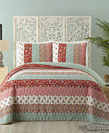 Jessica Simpson Cotton Caledonia King Quilt