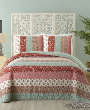 Jessica Simpson Cotton Caledonia King Quilt Bedding