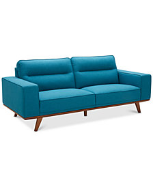 "CLOSEOUT! Favianna 89"" Fabric Sofa, Created for Macy's"