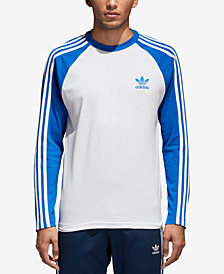 adidas Men's Originals Colorblocked Long-Sleeve T-Shirt