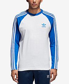 adidas Men's Originals Colorblocked Long-Sleeve T-Shirt