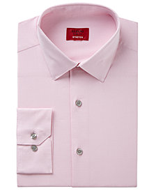Alfani Men's Slim-Fit  Stretch Easy-Care Pattern Dress Shirt, Created for Macy's